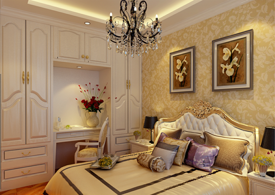 卧室装修墙纸