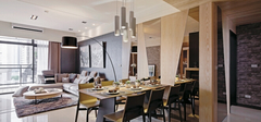 餐厅设计学问,不同的餐厅的搭配!