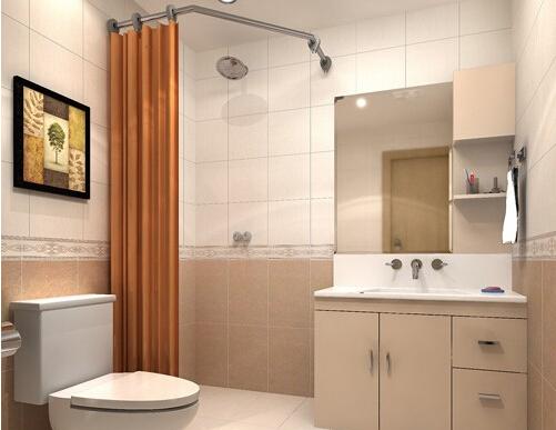 浴室浴帘选购