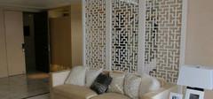 客厅屏风隔断设计,展现多层次之美