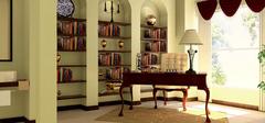 书房装修,打造安静空间!