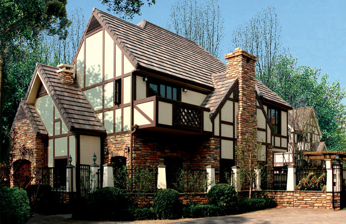 现代风格的建筑大多能体现出时代特征