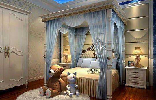 卧室墙壁颜色搭配