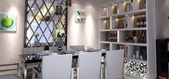 餐厅装修效果图,色彩与造型和谐搭配!