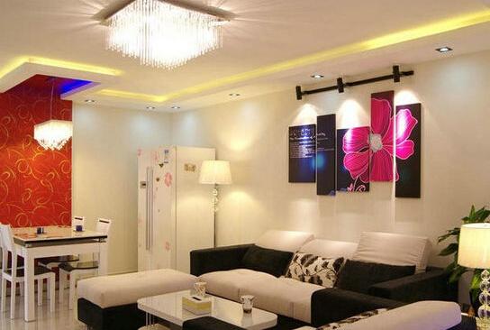 客厅水晶灯安装