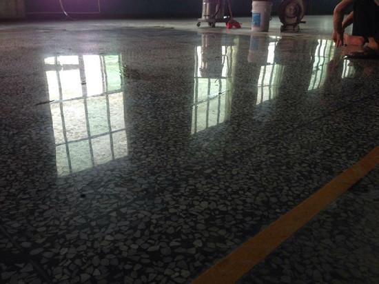 水磨石翻新