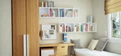 小户型书房设计效果图 就是这么的有范
