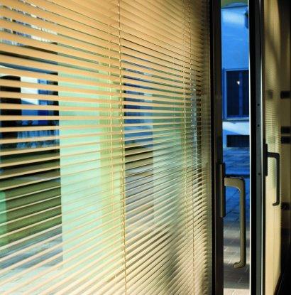 中空玻璃百叶窗