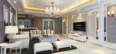 客厅水晶灯安装,新颖时尚!