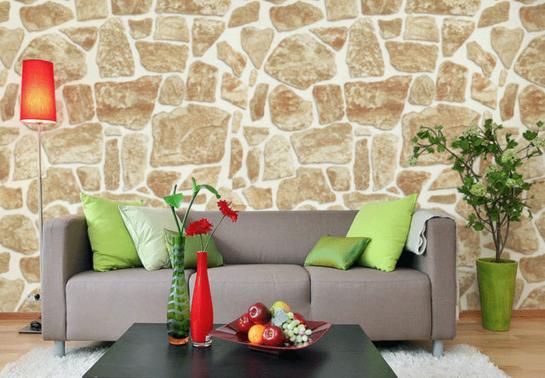 壁纸与家具巧妙搭配
