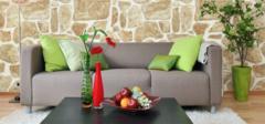壁纸与家具巧妙搭配更温馨