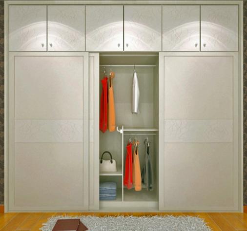 卧室衣柜色彩搭配