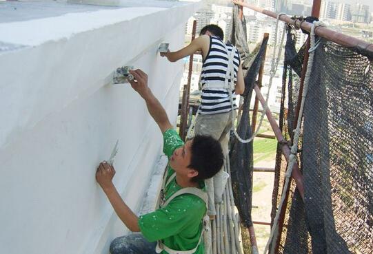 外墙涂料施工