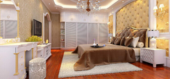 欧式卧室装修,不一样的欧式装修!