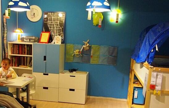 儿童房灯具选购