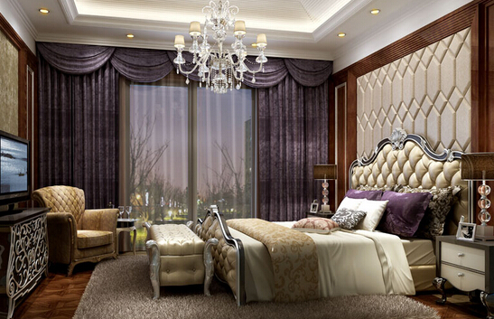 欧式卧室装修
