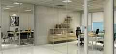 办公室玻璃隔断,美观时尚工作空间!