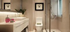 卫生间装修,干湿区分离设计!
