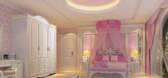女生卧室设计效果图欣赏