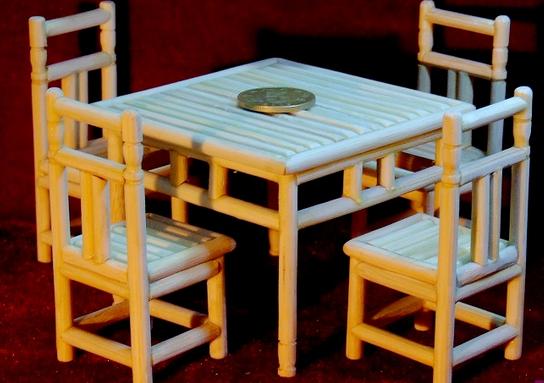 筷子工艺品制作
