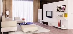 不同风格的客厅装饰效果