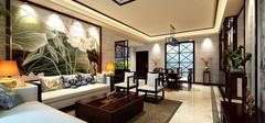 中式背景墙的设计特点是什么?