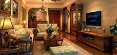 美式乡村风格客厅,回归自然!