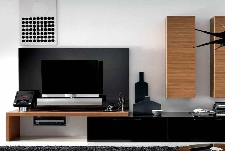 板式结构电视柜