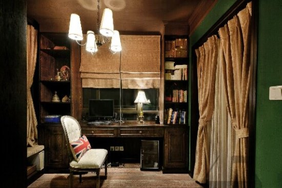 美式书房家具