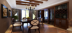 美式装修风格样板房的特点是什么