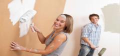 粉刷墙壁容易出现的质量问题