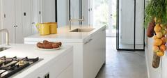 地中海风格厨房装修,打造纯粹美!