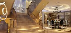 不同风格的楼梯设计效果