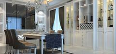 不同装修风格的餐边柜尺寸介绍