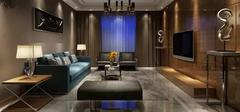 客厅窗帘选什么颜色比较好?客厅窗帘效果图欣赏