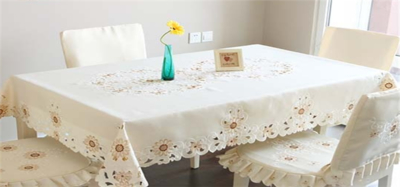 餐桌桌布,高雅精美共存!