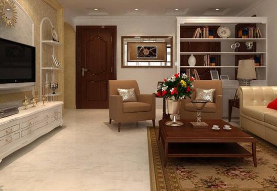客厅地面装修