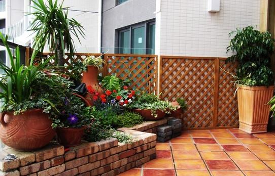 阳台花园,花园