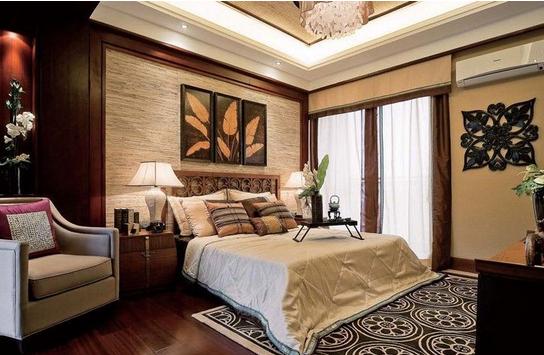 东南亚风格卧室,东南亚风格