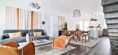 美式混搭公寓风格 不拘小节的随性生活