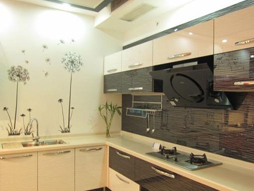 开放式厨房效果图