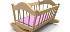 婴儿床尺寸是多少,婴儿床价格介绍!