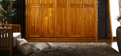 挑选实木衣柜的要诀有哪些?
