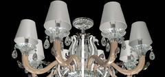 揭秘水晶灯与玻璃灯的区别