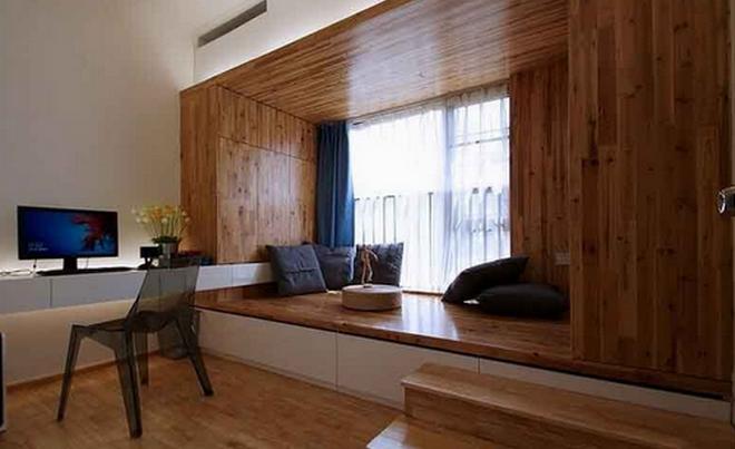 飘窗式榻榻米:打造不一样的休闲空间