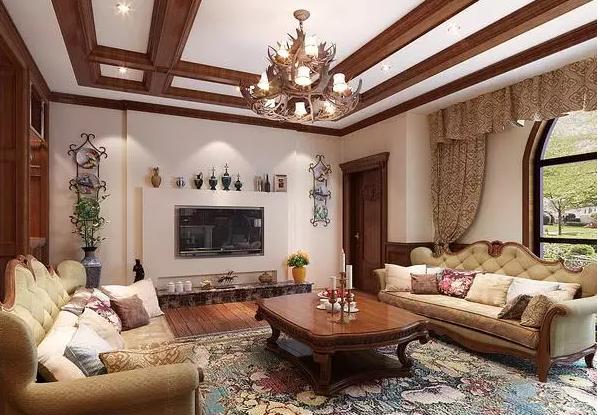 别墅装潢设计效果图