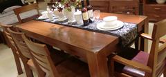 怎样保养实木餐桌?