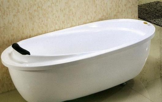 独立式浴缸安装