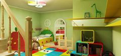 儿童房装修选择油漆还是壁纸?
