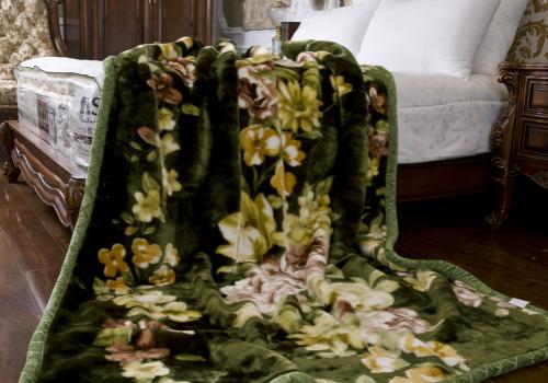 毛毯效果图